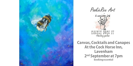 Canvas Cocktails & Canapes -  Busy Bee -  Lavenham, Suffolk, 2nd September tickets