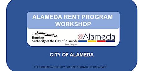 Alameda Rent Program Informational Workshop tickets