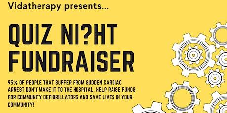 Quiz Night Charity Fundraiser tickets