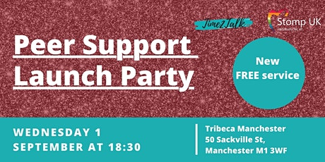 Time to Talk and Stomp UK Peer Support Group Launch tickets