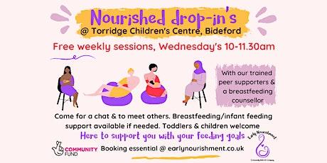 Nourished drop-in Bideford (breastfeeding & infant feeding support) tickets
