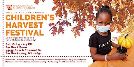 Children's Harvest Festival - Far Rock Farm tickets