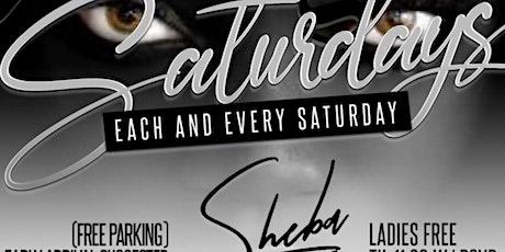 Sexy Saturdays at Sheba Lounge tickets