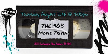 90's Movie Trivia at Alamo Drafthouse Loudoun tickets