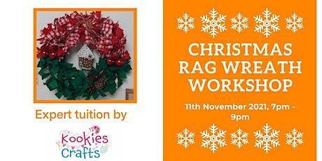 Christmas Rag Wreath Workshop tickets