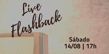 Projetart - Live Flashback ingressos