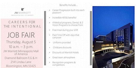 Job Fair!! JW Marriott  Minneapolis Mall of America tickets