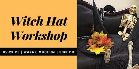 Witch Hat making Workshop tickets