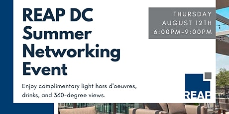 REAP Rooftop Networking Event tickets