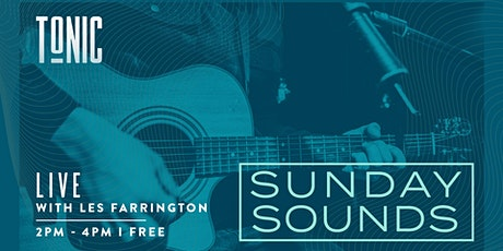 Sunday Sounds with Les Farrington tickets
