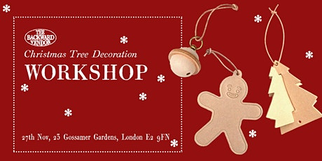 Christmas Tree Decoration Leather Workshop tickets