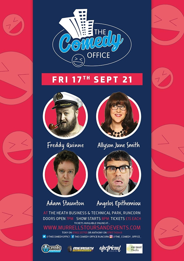 The COMEDY OFFICE image