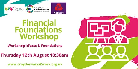Financial Foundations with NatWest Bank: Workshop 1 tickets