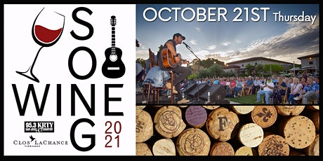 95.3 KRTY and DGDG.Com Present Song And Wine Series 2021 Thurs October 21 tickets