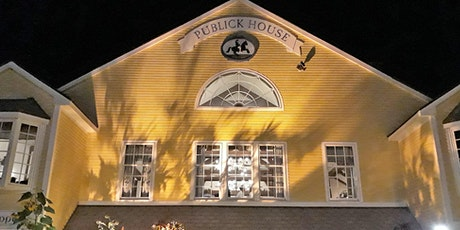 Interactive Paranormal Investigation Dinner At The Publick House tickets