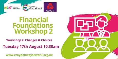 Financial Foundations with NatWest Bank: Workshop 2 tickets