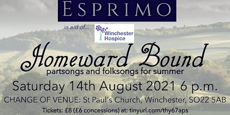 Homeward Bound: Partsongs and Folksongs for Summer tickets
