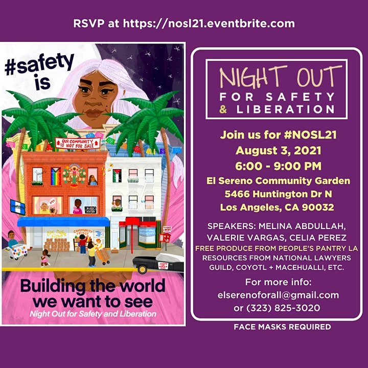 Night Out for Safety and Liberation 2021 image