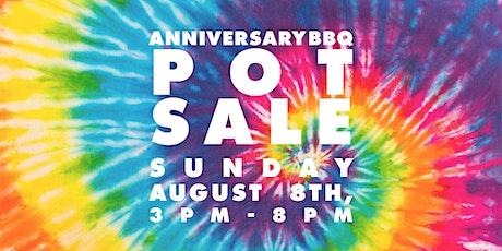 Guttenberg Arts Backyard BBQ & Pot Sale Fundraiser tickets
