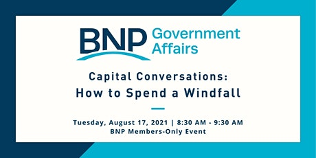 2021 Capital Conversation: How to Spend a Windfall tickets
