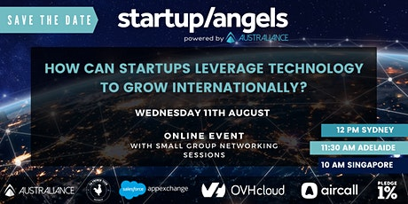 How can startups leverage technology to grow internationally? tickets