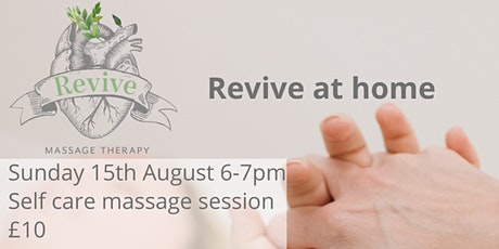 Fundraiser for FOTHCP Revive at Home Head, Neck & Shoulders tickets