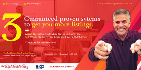 3 Guaranteed Proven Systems To Get You More Listings! boletos