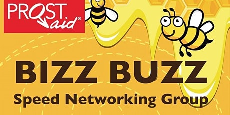 Leicester Bizz Buzz IN PERSON networking Wednesday 4 August 2021 12-2pm tickets