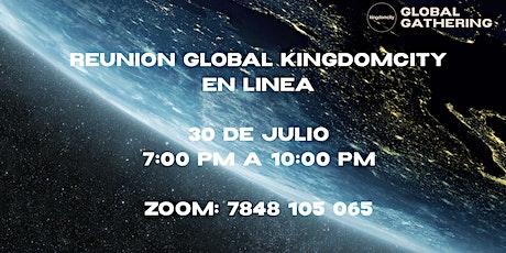 Reunión Global de Kingdomcity EN LÍNEA entradas