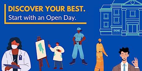 Open Day  Art & Design & Visual Communications tickets