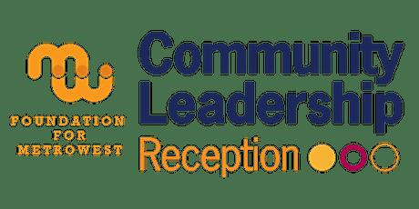 2021 Community Leadership Reception tickets