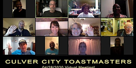Culver City Toastmasters - Weekly Meeting tickets