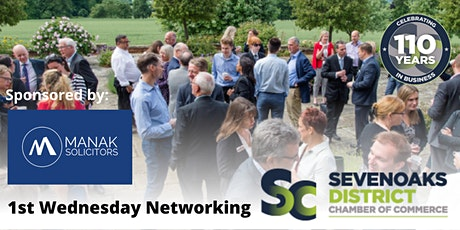 FIRST WEDNESDAY NETWORKING SEPTEMBER 2021 tickets
