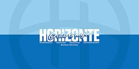 Reunión Horizonte - Domingo 13:00 hrs. boletos