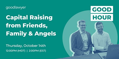 Capital Raising from Friends, Family & Angels tickets