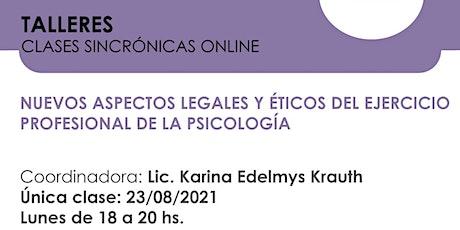 Nuevos aspectos legales y éticos del ejercicio profesional de la psicología biglietti