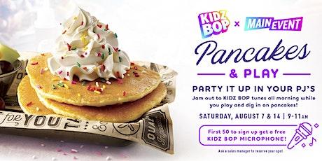 Kidz Bop Pancakes & Play - Main Event Grapevine tickets