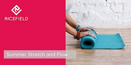 Summer Stretch and Flow Workshop tickets