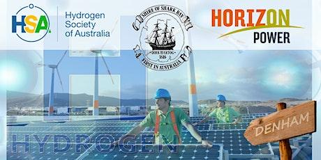 Powering Regional Australia with Renewable Hydrogen: Denham Case Study tickets