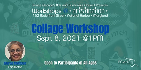 Workshops at Arts'tination: Collage with Sharon Robinson tickets