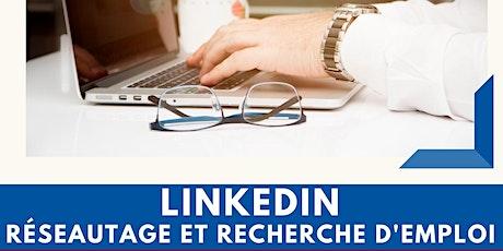 LinkedIn : réseautage et recherche d'emploi. tickets
