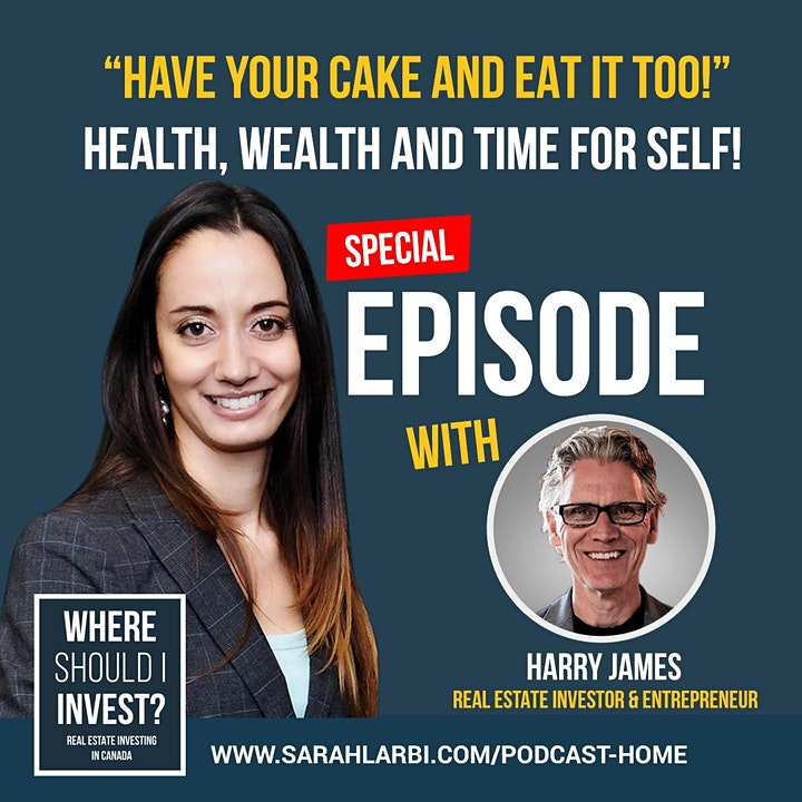 Have your cake and eat it too! Health wealth and time for self event image
