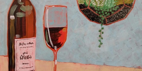 """Paint and Sip """"Wine and Succulents at d'Vine Gourmet in Chandler tickets"""