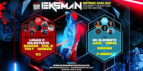 Eksman Birthday Bash 2021 tickets