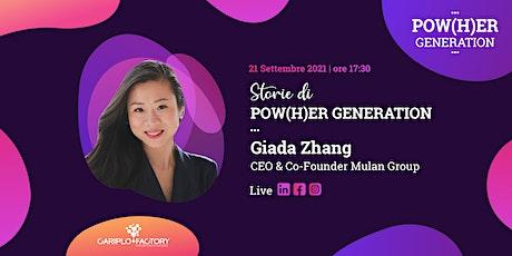 Storie di Pow(H)er Generation - Parola a Giada Zhang biglietti