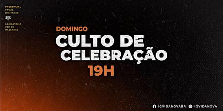 CULTO DE CELEBRAÇÃO 01AGOSTO  - 19H ingressos