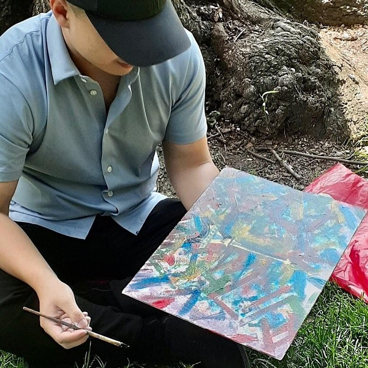 Gay Painting Party/Picnic  in Central Park image