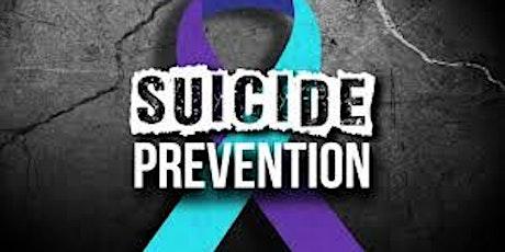 SOS Suicide Prevention tickets