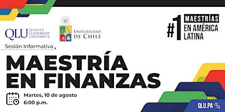 Sesión Informativa - Maestría en Finanzas entradas