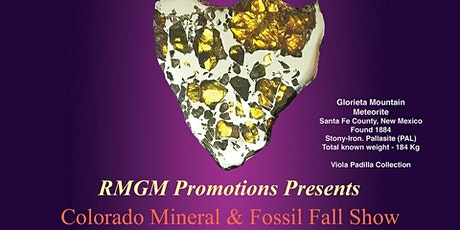 Colorado Mineral and Fossil Fall Show tickets